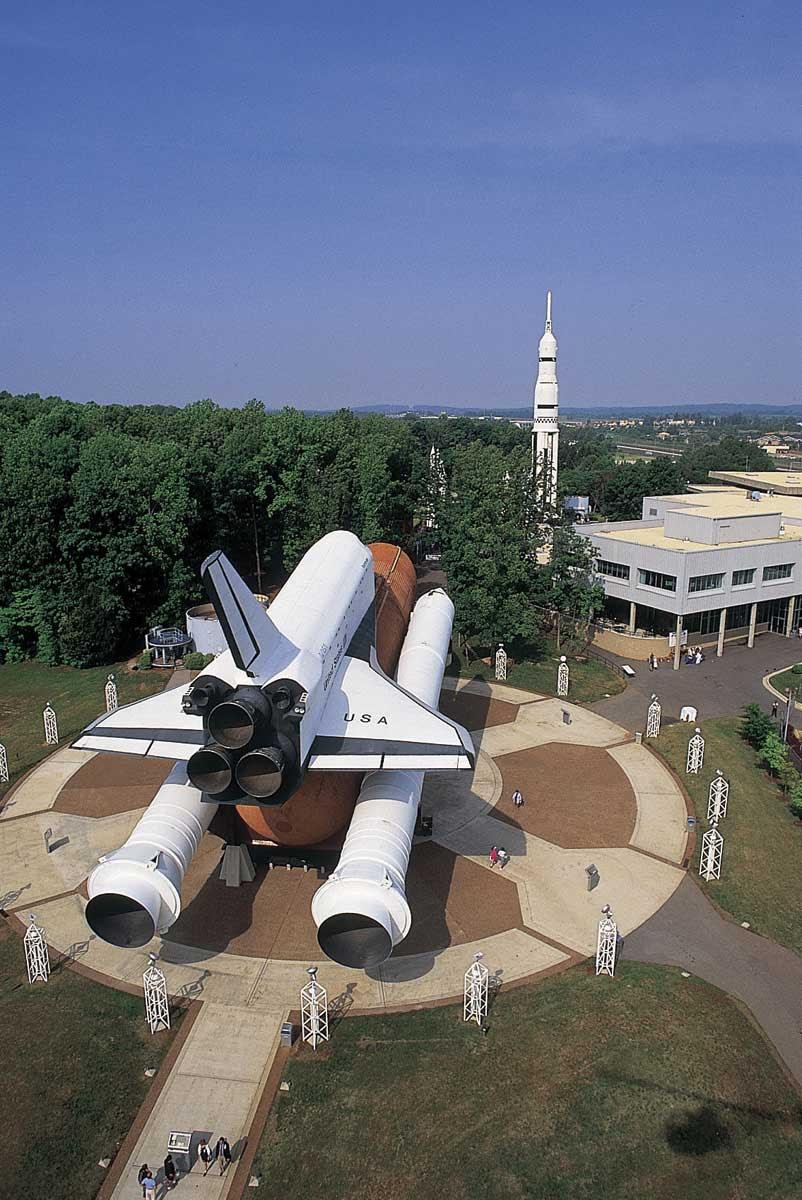 Monumentos foguete em Huntsville
