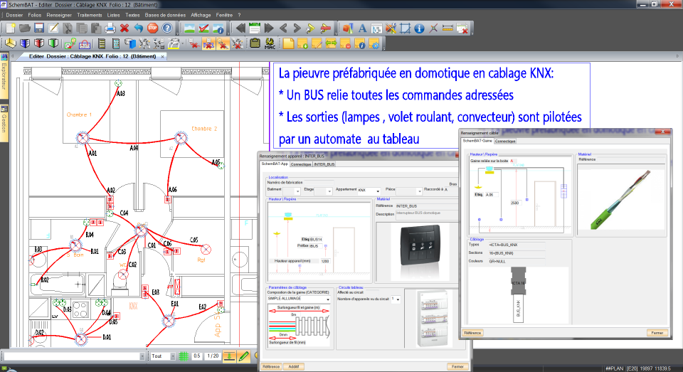 Home Automation Wiring Diagram : Knx home automation wiring diagram and