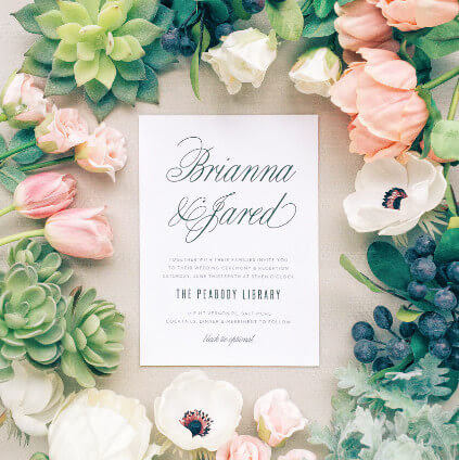 Best Online platform to get your country style wedding invitations design with ease