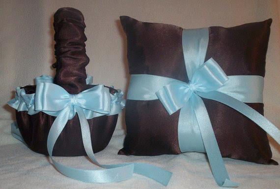 chocolate wedding flower basket