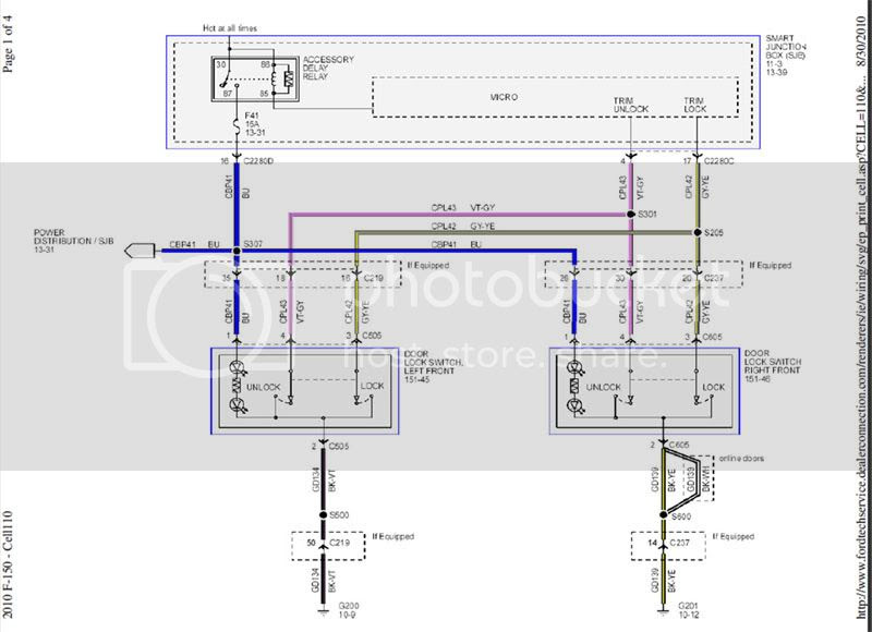 2010 Ford Upfitter Switches Wiring Diagram
