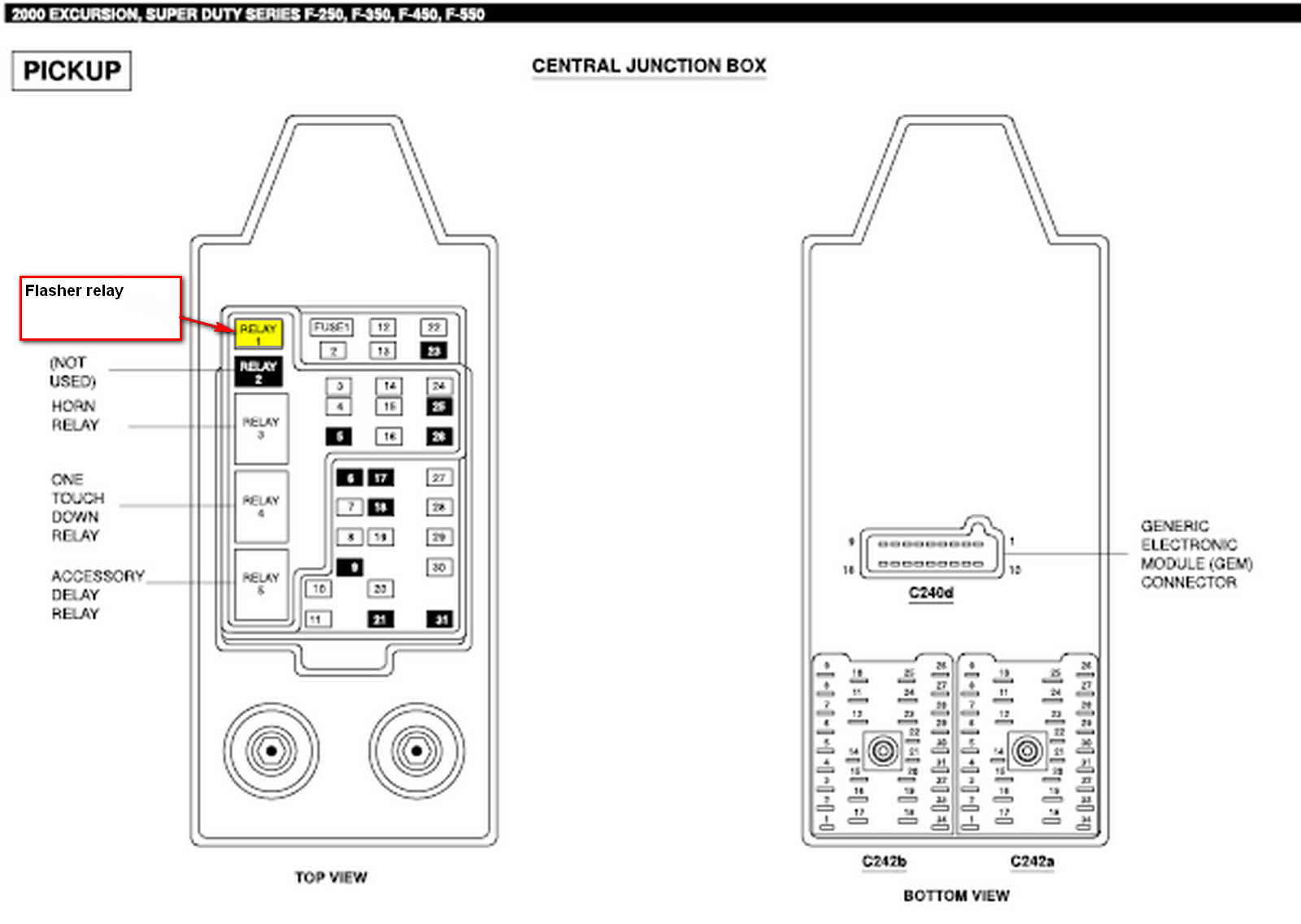 2006 Subaru Outback Fuse Box Diagram