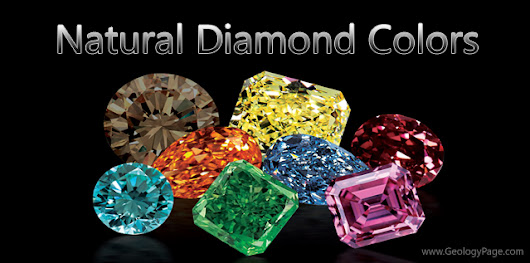 Natural Diamond Colors | Geology Page