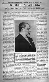 Atatürk'ün The Times röportajı