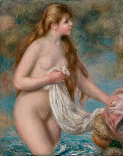 Bather, Renoir, c. 1895