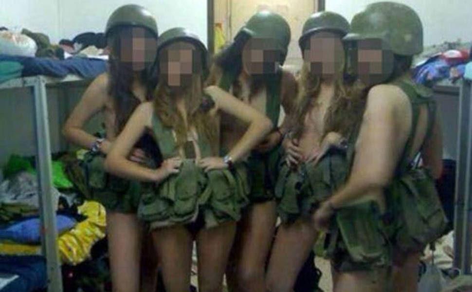 recrutas soldados israel fotos facebook