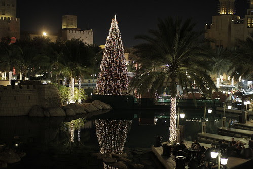 The Jumeirah area at night 2