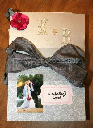 Wedding Book full of Cards