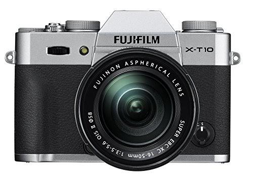 Fujifilm X-T10 OIS II Silver Mirrorless Camera Kit with XC 16-50mm F3.5-5.6 Lens: Control mode —Settings...