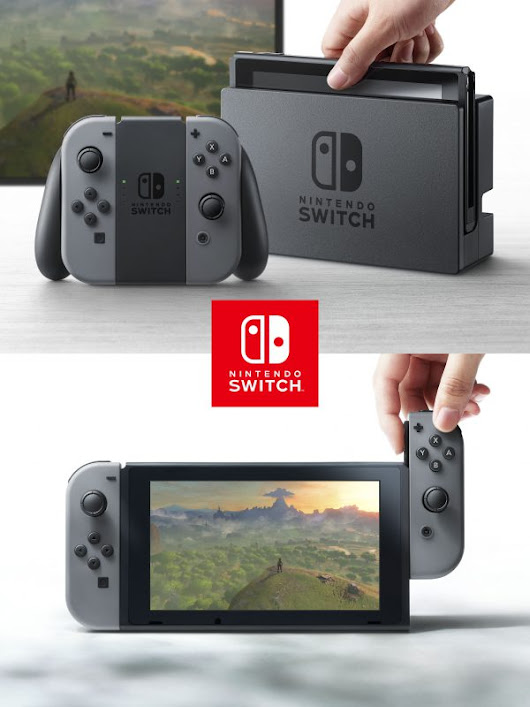 Nintendo Switch Revealed, Unifies Home and Portable Gaming Into One Console