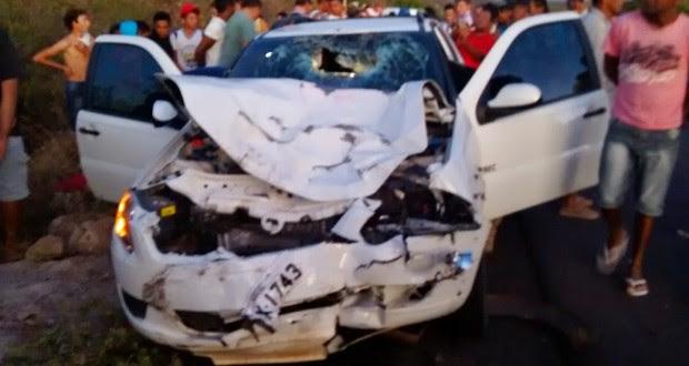 FRANCISCO MACEDO: Casal morre em colisão com carro do Exército na BR 316; veja fotos