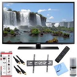 Samsung UN48J6200 - 48-Inch Full HD 1080p 120hz Smart LED HDTV Tilt Mount\/Hook-Up Bundle