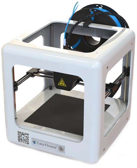 Easythreed NANO Mini Fully Assembled 3D Printer Sells for $160