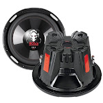 """BOSS Audio P126DVC 12"""" 4600W Car Power Subwoofers DVC 4 Ohm (2 Pack) by VM Express"""