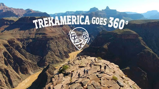 Check out Trek America's 360 VR Tours and WIN ONE!