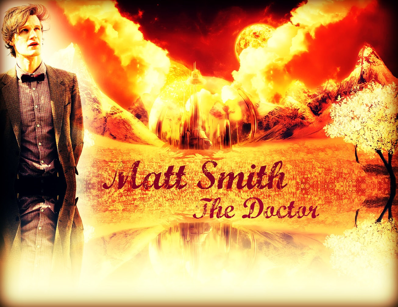 Matt Smith The 11th Doctor At Gallifrey Doctor Who Wallpaper