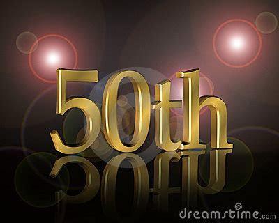 50th Birthday Party Invitation Stock Image   Image: 10567321
