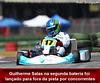 Guilherme Salas tenta, mas por um ponto fica com o vice da Copa SP Light de kart