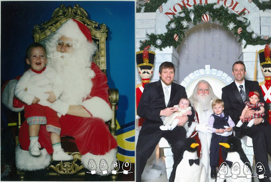 These Two Brothers Have Had Their Photo Taken with Santa for 30 Years Running