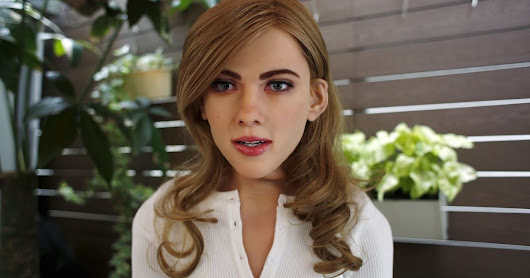 Man builds scarily lifelike 'Scarlett Johansson' robot from scratch