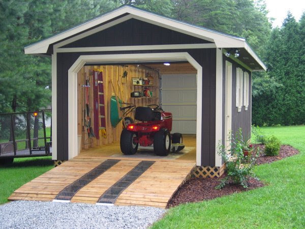 Outdoor Shed Building Kits Shed Plans With Sloped Roof