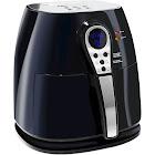 Maxi Matic Elite Platinum Digital Air Fryer - 3.2 qt - Black/Silver