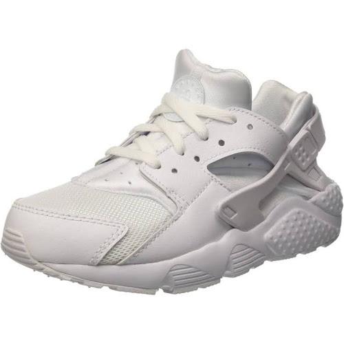 46dbe08037 Nike Huarache Little Kids Running Shoes White/Pure Platinum 704949 ...
