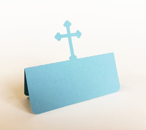 Cross Place Cards