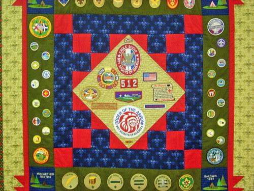 Boy Scout Tribute Quilt