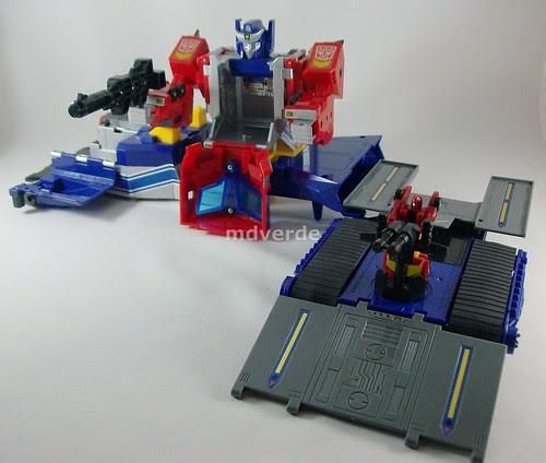 Transformers Star Convoy G1 - modo base