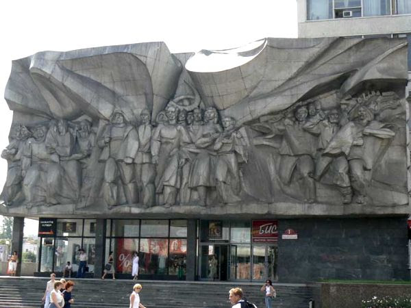 Monumento Soviético na Estônia