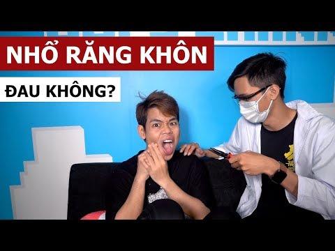 Nhổ răng khôn đau không? (Oops Banana Vlog #26)