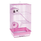 PetPride Prevue Hendryx Three Story Hamster & Gerbil Cage- Lilac