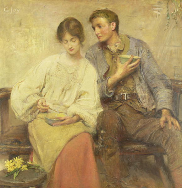 A Dinner Of Herbs by George William Joy