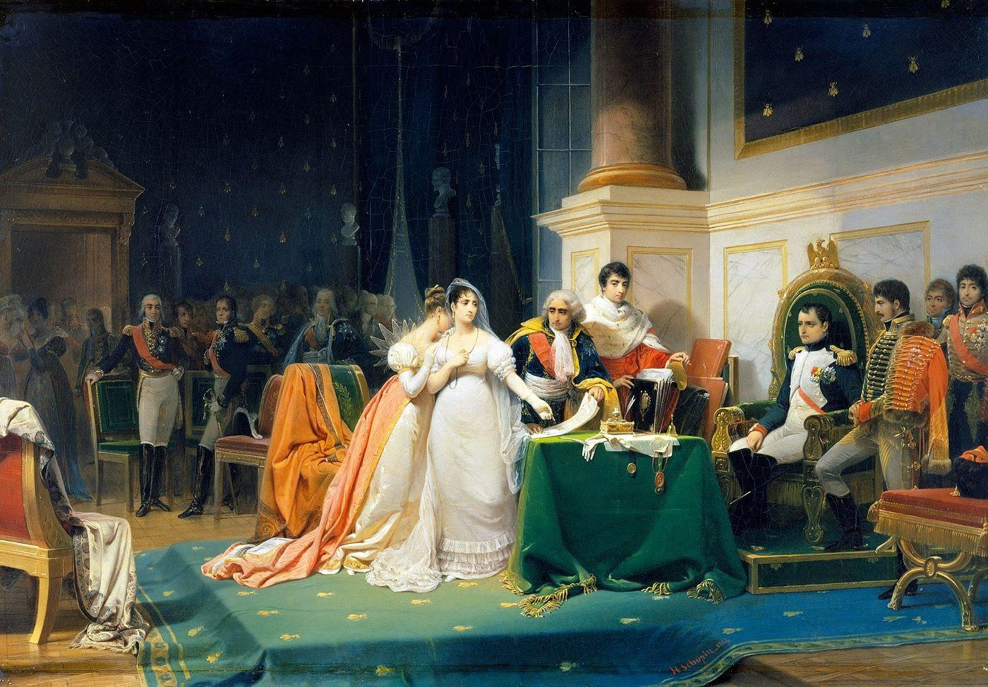 File:Le divorce de l'Impératrice Joséphine 15 décembre 1809 (Henri-Frederic Schopin).jpg