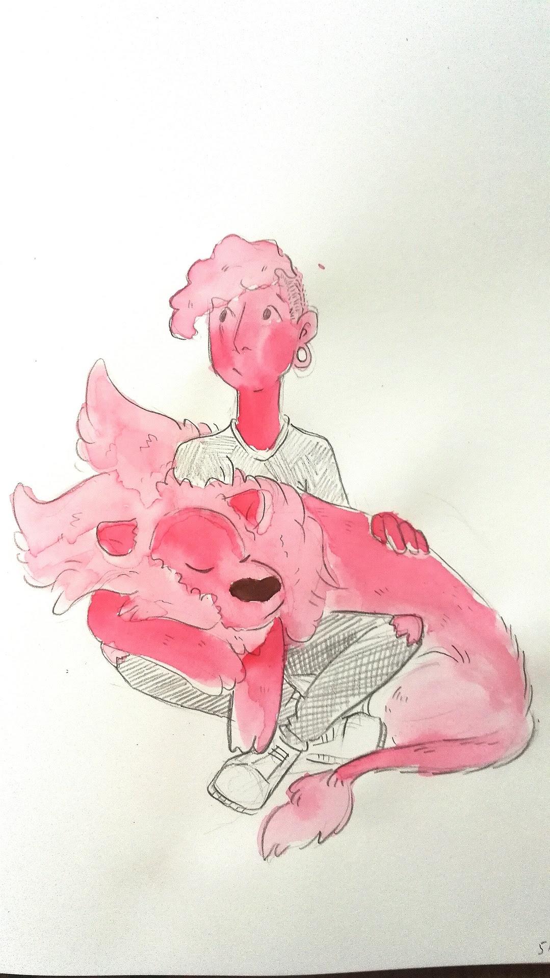 Pink buddies!!