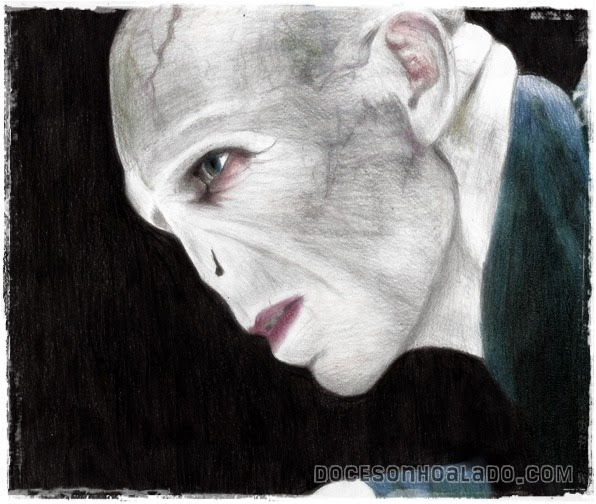 Homenagem de Quinta Lord Voldemort Ralph Fiennes desenho