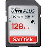 SanDisk Ultra Plus SDXC 128 GB Memory Card - UHS-I U1/Class 10