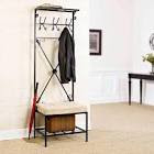 Coat Hanger with Umbrella Stand at Brookstone—Buy Now!