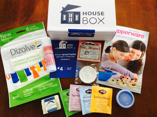 House Box Subscription Box - April 2016- SubscriptionBoxes.ca