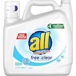 All Ultra Free Clear HE Liquid Laundry Detergent - 141oz