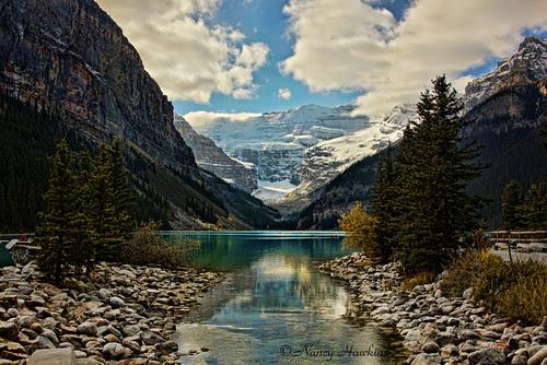 Lake Loiuse by Nancy Hawkins
