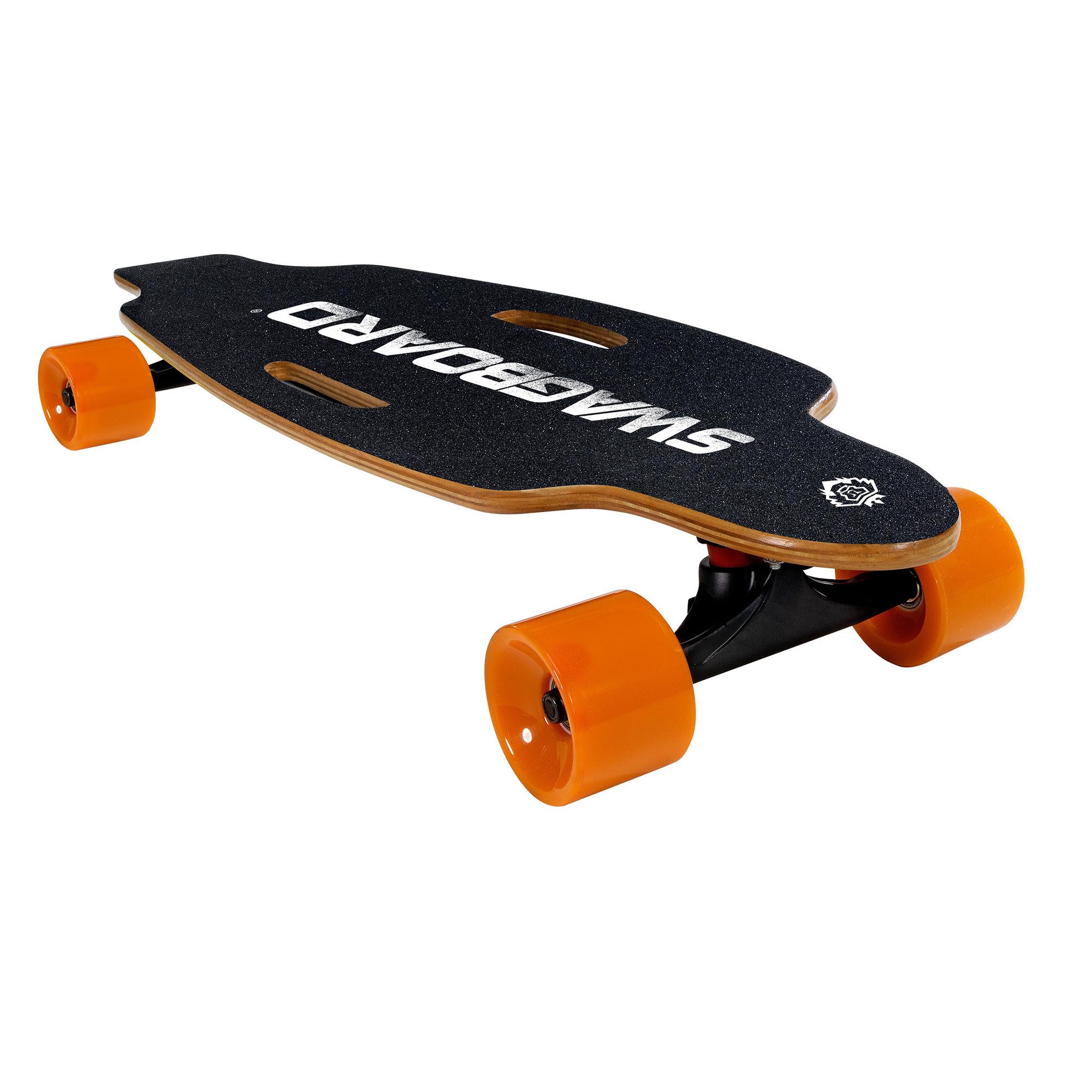 Swagtron Electric Skateboard longboard Bluetooth Remote \u0026 Maple Deck Swagboard  eBay