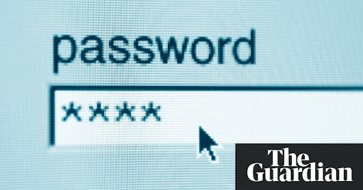 RIP passwords: new web standard designed to replace login method | Technology | The Guardian