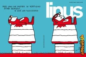 """Snoopy diventa un Vip nella nuova copertina di """"Linus"""""""