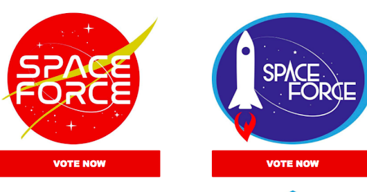 Space Force is in the market for a logo and President Trump is asking Americans to vote - CBS News