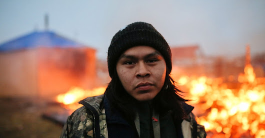 Dakota Access Pipeline Protesters Burn Their Camp Ahead of Evacuation