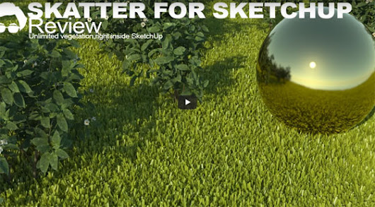 skatter for sketchup | sketchup tutorial | sketchup plugin