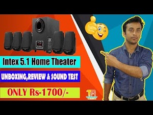 Intex Home Theater Multimedia Speakers Unboxing  🔥🔥 Technical Ani