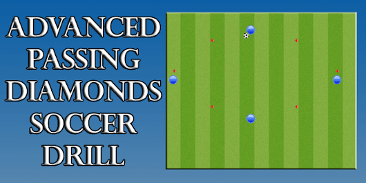 Advanced Soccer Passing Drill: Passing Diamonds - Coaches Training Room | Soccer Training Sessions | Soccer Drills | Soccer Coaching Sessions | Practice Sessions | Futsal Sessions | Futbol Sessions | Futbol Drills | Futsal Coaching | Futsal Practice Sessions | Youth Football Drills
